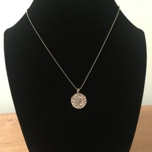 Jewelry - Boutique Sterling Silver Ohm Charm Pendant